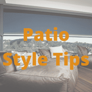 Patio Style Tips